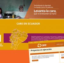 CARE. Um projeto de Web design e Desenvolvimento Web de Pablo Núñez Argudo         - 04.06.2014