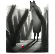 "Serie ""Caperucita Roja"" . A Illustration project by Sandra Rilova - 05.02.2015"