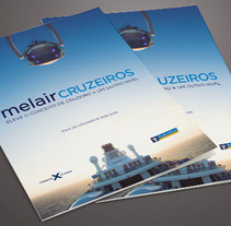 MelairCruzeiros. A Design, Art Direction, Design Management, Editorial Design, and Graphic Design project by Àngela Curto - 03-05-2015