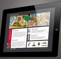 Oriol Gracià. Un proyecto de Dirección de arte, Diseño, Diseño gráfico, Diseño interactivo, Diseño Web y Gestión del diseño de Àngela Curto - Domingo, 03 de abril de 2011 00:00:00 +0200