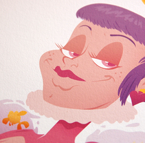 Reina de Corazones. A Art Direction, Character Design, Graphic Design&Illustration project by La Trastería  - 05.13.2015