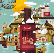 BEER LOVERS. A Art Direction, Design&Illustration project by Alberto Ojeda - 05.14.2015