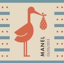 Manel. Un proyecto de Ilustración, Artesanía, Diseño gráfico y Packaging de Heroine Studio - 17-05-2015