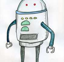 Robots.... A Illustration project by Salva Insa - May 21 2015 12:00 AM