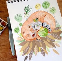 LADY BEAR. Un proyecto de Ilustración de Lydia Sánchez Marco - 21-05-2015