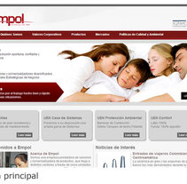 Gestor de Contenidos - Empol. A Web Development project by Jhonathan         - 23.05.2015