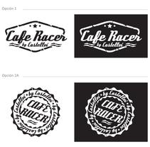 Propuestas logo - Cafe Racer para colección de motos . Um projeto de Design gráfico de Sergio Sala Garcia         - 23.05.2015