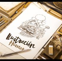 Ilustración Prensa. Un proyecto de Ilustración de Emilio Lopez         - 24.05.2015