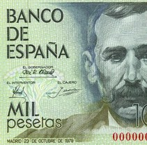 Billetes del Banco de España. A Design project by  Cruz Novillo & Pepe Cruz  - 31-05-2015