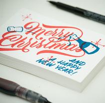 Christmas. Un proyecto de Ilustración, Tipografía y Escritura de Ales Santos - 01-06-2015