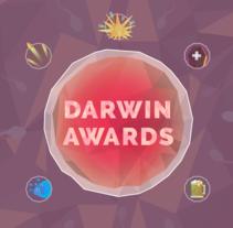 Darwin Awards - Gracias por no reproducirse. A Illustration, Graphic Design, Information Architecture&Information Design project by Xisco Cabrer - 13-06-2015