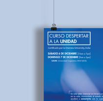 Curso despertar a la unidad. Um projeto de Design gráfico de Andrea De Armas Nuñez         - 20.11.2014