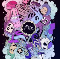 Mi Proyecto del curso Ilustración exprés con Illustrator y Photoshop aunque sin cerveza... Un proyecto de Publicidad de Jorge Surroca Sanchez         - 04.06.2015