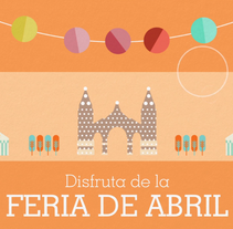 Ing Direct - Feria de Abril. A Illustration, and Motion Graphics project by Candida Bevilacqua         - 04.04.2015