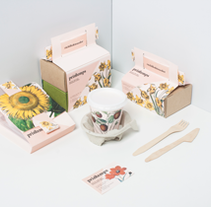 Primtemps Take Away . Un proyecto de Diseño, Dirección de arte y Packaging de Nat tattaglia - 04-06-2015