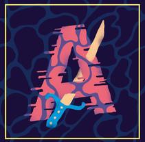 36 days Of Type 2015. Un proyecto de Ilustración, Diseño gráfico y Tipografía de Miriam Muñoz         - 07.06.2015