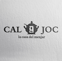 Identitat : Cal Joc. Un proyecto de Br e ing e Identidad de Isaac Peñarroya  - 30-11-2014