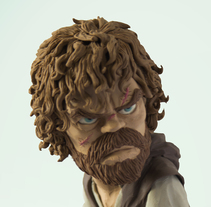 Tyrion Lannister. A To, Design, Character Design, and Sculpture project by Gustavo Vargas Tataje - 06.13.2015