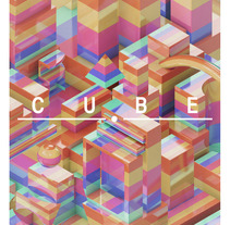 CUBE. A Illustration, 3D, Architecture, and Art Direction project by Borja Alegre  - 15-06-2015