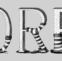 GOREY. A Illustration, T, and pograph project by Rubén C. Martín         - 15.06.2015