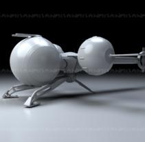 Bubbleship. A 3D project by Miguel Sanchez - 19-06-2015
