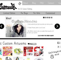Bobsmade Web. Um projeto de Design gráfico e Web design de Juliana Muir         - 14.09.2011