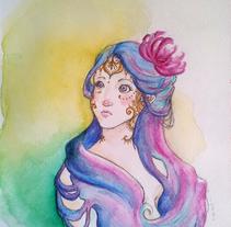 Henna. Un proyecto de Ilustración y Bellas Artes de Beatriz Galiot - 20-05-2014
