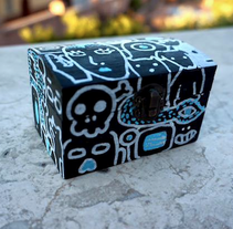 Box. A Illustration, and Crafts project by Simón Gallardo         - 22.06.2015
