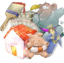 Ilustración. A Illustration, and Graphic Design project by José Manuel Sáinz del Río         - 25.06.2006