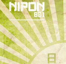 Cartel Proyecto Nipon 801 日本. A Design, Illustration, Advertising, Br, ing, Identit, Editorial Design, Events, Graphic Design, Marketing, T, and pograph project by Koke Hernán         - 30.06.2015