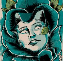 Flowers. Un proyecto de Ilustración de camilo182 - 01-07-2015