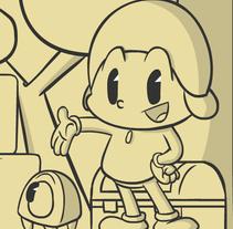 Ilustracion Pocoyo 2D Classic.. Un proyecto de Ilustración y Animación de Rubén García         - 02.07.2015