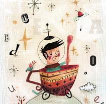 experimentillos...!!!. Un proyecto de Ilustración de Laura Cortés         - 05.07.2015