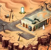Post-apocalyptic game. Un proyecto de Ilustración, Animación y Diseño de juegos de Jose Barrero - 03-07-2015