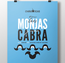 Chirigóticas - Tres monjas y una cabra. A Art Direction, Br, ing, Identit, and Film project by Ideólogo          - 09.07.2015