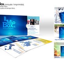 Grafica:web, editoria, comunicación online/offline.. Um projeto de Design, 3D, Design editorial, Design gráfico e Web design de Marco Di Grande - 12-07-2015