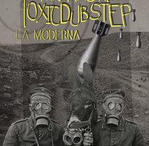 Mr Hash Toxic dubstep Flyer. Um projeto de Design, Música e Áudio, Br, ing e Identidade e Design gráfico de Natalia Beato Pérez         - 20.07.2015