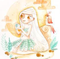 Lady Bird . Un proyecto de Ilustración de Lydia Sánchez Marco - 21-07-2015