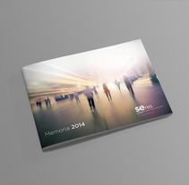 Informe Anual Fundación Seres. Un proyecto de Diseño gráfico de César Martín Ibáñez  - 22-07-2015
