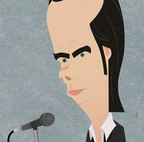 Nick Cave. A Illustration, Music, and Audio project by dalonba         - 26.07.2015