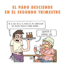 Mi Proyecto del curso Humor gráfico para principiantes. Un proyecto de Ilustración y Comic de Polak's Project - 28-07-2015