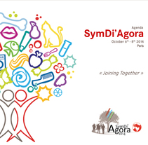 Tríptico/Agenda evento internacional 2014. A Design, Illustration, Events, and Graphic Design project by Paula Batllés Gil         - 29.07.2015