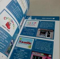 AMODIÑA - Pasarela de Moda - Catálogos de empresas participantes. Um projeto de Design editorial de Ana Isabel Álvarez Nores         - 29.09.2014