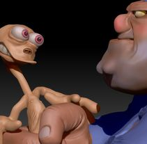 Kowalski & Ren - Zbrush. Um projeto de 3D e Design de personagens de Mario Escudero - 29-11-2012