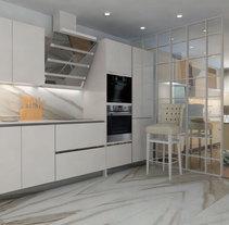 Interiorismo vivienda - Particular Barcelona. A Interior Design project by MIG CONSTRUIR         - 26.07.2015