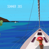 Summer 2015. A Design, Illustration, and Fine Art project by Valeria Scaloni         - 24.07.2015