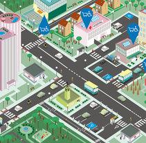 TRABAJO para TECNOACCESIBLE. Un proyecto de Ilustración de Miguel B. Núñez         - 06.08.2015