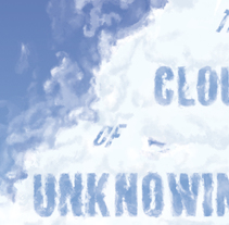 The Cloud of Unknowing. A Illustration, Fine Art, and Graphic Design project by Ricard Garcia         - 06.08.2015