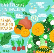 Horchata Magazine - 3 Recetas para Horchata 3 . A Illustration project by ana seixas         - 05.01.2015