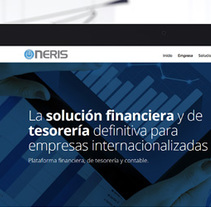 nerisglobal.com. A Design, Interactive Design, Web Design, and Web Development project by Eloy Ortega Gatón - 23-08-2015